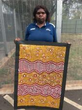 Patricia Jackson Napanangka    89cm x 60cm COA Supplied