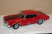 Chevy Chevelle SS 396 rot 1970 1:18 auto world AMM1082 neu & OVP