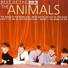 Best of the 60's by The Animals (CD, Jul-2000, Disky)