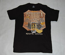 MENS Tee Shirt Black TEQUILA KILLER SHOTS Skeleton Large  42-44