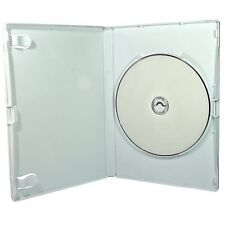 White Wii DVD Storage Cases sleeve 14mm 10 Pack ~ replacement cases for Ninte...