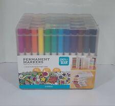 Pen+Gear Ultra Fine Permanent Markers - 60 Ct - Storage Case - New