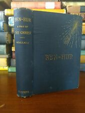 Ben-Hur: A Tale Of The Christ 1887 Lew Wallace Early Printing Harper & Brothers