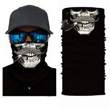 Moustache Skull Multifunctional Bandana,Cycling,Motorbike,Hunting,Face Scarf