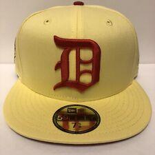 New Era 59fifty Hat My Fitteds Exclusive Detroit Tigers 1945 Lemon Zest 7 5/8