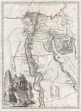 1753 Vaugondy Map of Egypt