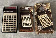 Calculatrice Scientifique TEXAS INSTRUMENTS TI-30 vintage ! Pile Neuve Inclus !