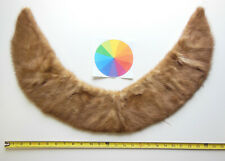 Mink Fur Collar, Color: Red-Brown, For Bear Making, Clothing Alterations, Etc.
