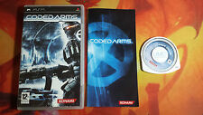 CODED ARMS SONY PSP ENVÍO 24/48H COMBINED SHIPPING