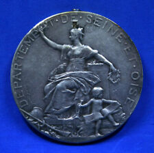 France Department of Seine and Oise silver medal 1896 Vetheuil