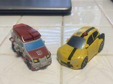 Transformers Animated Activators Lot 2? Bumblebee,Ratchet Figures