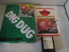 Commodore C64 computer cartridge - Dig Dug w/box,manual -