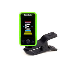 Planet Waves Eclipse Clip-On Chromatic Headstock Guitar Bass String Tuner Green