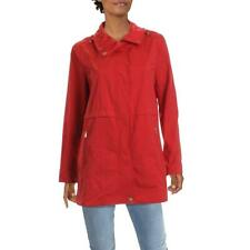 Cole Haan Womens Spring Water Resistant Packable Raincoat Outerwear BHFO 7616