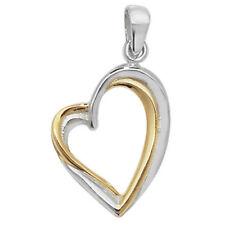 Collares y colgantes de joyería colgante oro, con amor y corazones
