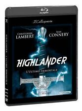 Blu Ray Highlander - L'Ultimo Immortale (Dvd+Blu-Ray) *** Contenuti Extra ***NEW