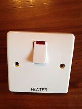 MK 20A HEATER K5423 WH WHI White with Neon