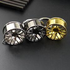 2017New Creative Wheel Hub Rim Model Man's Keychain Car Key Chain Cool Gift Pop