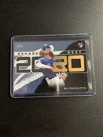 Topps 2020 Series One Bo Bichette Decade's Next BLUE PARALLEL SP Rc Rookie