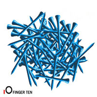 "Golf Tees 2 3/4"" 100 Count 70 mm Long Wood Professional Tee Bulk White Red Blue"