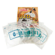 Oud Strings 12 Strings Set Clear Nylon & Silver Plated Copper Alloy Wound String