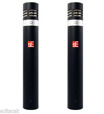 sE Electronics sE5 SP Matched Stereo Pair w/ Mounting Bar Microphone Mics