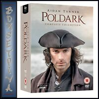 POLDARK COMPLETE COLLECTION - SERIES 1 2 3 4 5 BBC SERIES *BRAND NEW DVD BOXSET