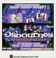 NON-SPORTS FACTORY BOX: THE OSBOURNES Trading Card Box (36 pks) (Inkworks)