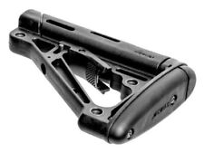 HOGUE Rubber Over-Molded Collapsible Mil-Spec Butt Stock w/ Ambi QD Sling Mount