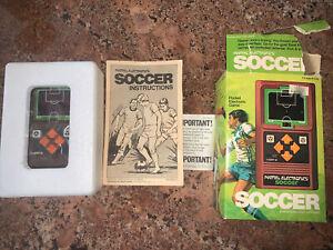 MATTEL Soccer Vintage Handheld Electronic tabletop Arcade video game ✨TESTED✨