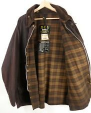 Mens Brown Vintage Barbour Beaufort Wax Jacket C50  XXL Original : J676