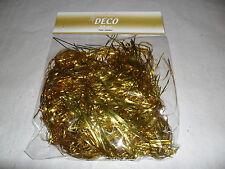Lametta, Gold, Engelshaar, feines Lametta 20g, ideal zum Schmücken,Basteln,Dekor