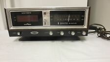 Vintage Zenith Solid State Circle of Sound Clock Radio R472-Touch Snooze