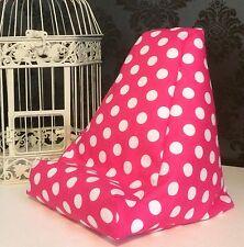 Pink Spot Design Cushion Pillow Beanbag Bean Bag Suits Ipad, Books & Tablets