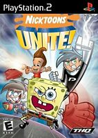 Nicktoons Unite! - 2007 THQ - (Everyone) - Sony PlayStation 2 PS2