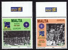 Malta 2007 Europa Scouts Complete Set SG 1541 - 1542 Unmounted Mint