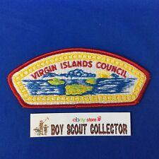 Boy Scout CSP Virgin Islands Council Shoulder Patch