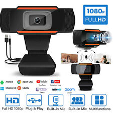 Webcam with Microphone HD Streaming USB Computer Webcams 12MP Camera For zoom