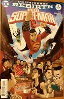 New Superman #2 Variant DC Universe Rebirth Comics 2016 1st Print Unread NM