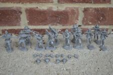 Civil War Confederate Infantry Toy Soldiers 60MM Paragon Charging Set Gray