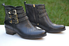 Clarks Ladies Ankle Boots LANGDON FIZZ Black Leather UK 5.5 / 39