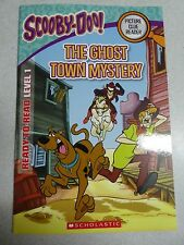 NEW BOOK SCOOBY DOO PICTURE CLUE READY TO READ LEVEL 1 ~ THE GHOST TOWN MYSTERY