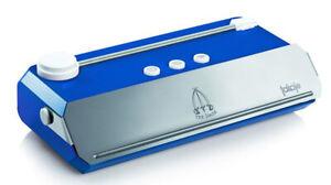 Macchina per sottovuoto Takaje blu TRE 3 SPADE confezionatrice vasetti buste