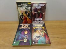 Bradley - Sword and Sorceress #1, #4, #5, #17 - 4 Softcover Fantasies!