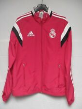 Veste REAL MADRID 2015 ADIDAS jacket tracktop football chaqueta rose pink S