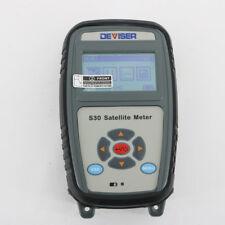 Deviser S30 Satellite Meter Support DVB-S/S2 Level Range 30 dBuV ~ 110 dBuV