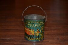C14- Toyland Peanut Butter E.K. Pond Co. Chicago Tin/Bucket