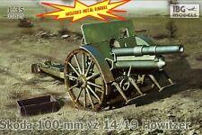 100mm skoda VZ.14/19 (lefh 14/19 (p)/utilisé par l'allemagne, hongrie, pologne/1/35 ibg