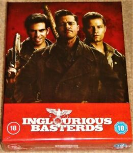 INGLORIOUS BASTERDS 4K ULTRA HD COLLECTORS STEELBOOK #1 / 4K HDR 10+ / BRAND NEW