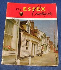 THE ESSEX COUNTRYSIDE SEPTEMBER 1963 - LIFE ON THE ESSEX MARSHLANDS 90 YEARS AGO